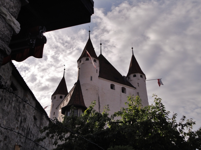 Castle of Thun in the early morning