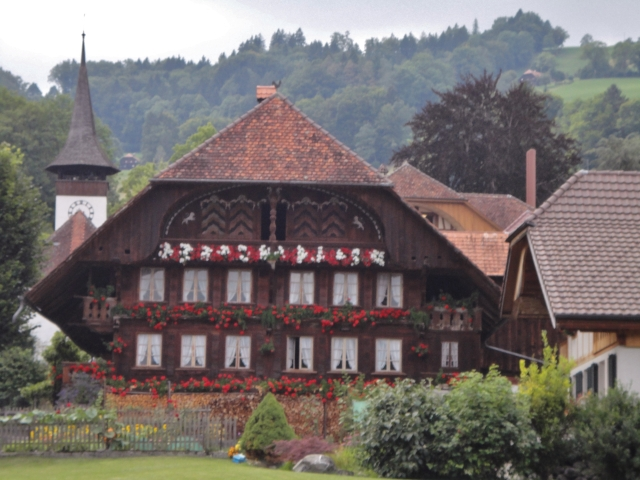 Traditional house in Wattenwil