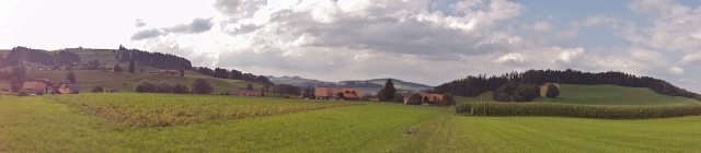 Landscape between Wattenwil and Riggisberg