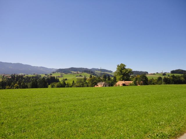 Landscape close to Schwarzenburg