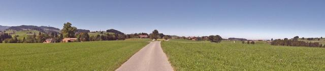 Walking towards Schwarzenburg