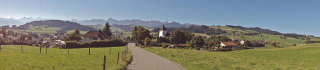 View back on Riggisberg